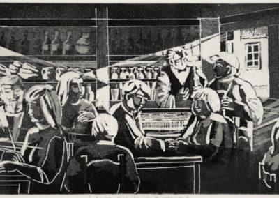 Elda Nalon - Ai tavoli di un bistrot