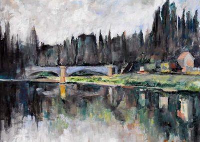 Flavio Bisson - Ispirandosi a Cézanne