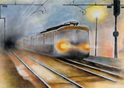 Gianni Gasparetto - Il treno